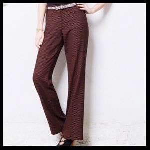Anthro Leifsdottir Marola Wide Leg Pants